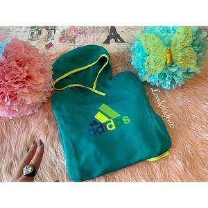 Adidas Pullover Hoodie Multicolor Logo